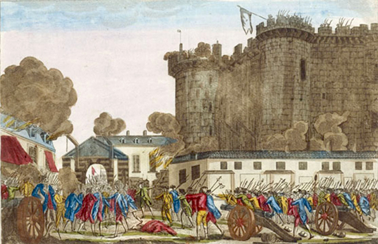 Fall of the Bastille July 14, 1789