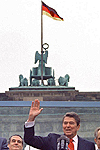 Ronald Reagan - Tear Down This Wall - Brandenburg Gate 1987
