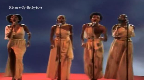 Boney M's Rivers of Babylon 1978 Had the Hebrews at their Edge of Becoming Jews