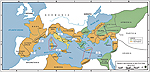Roman Civil War - MAP - 49-45 BC