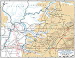 Map of the Shiloh Campaign: March 29, 1862