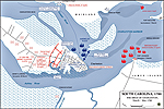 Map of the Siege of Charleston 1780