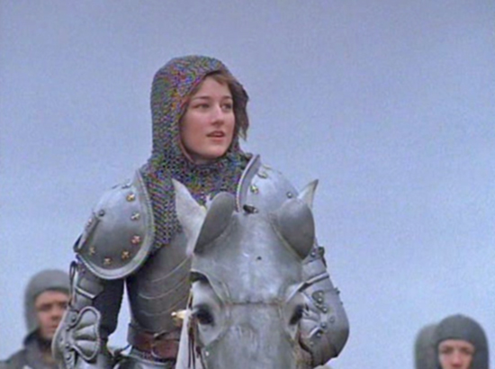 Leelee Sobieski is Joan of Arc, 1999