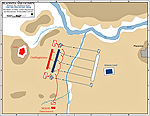 Battle of the Trebia 218 BC - MAP