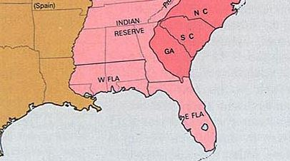 West Florida at Its Largest Extent: 1764-1783